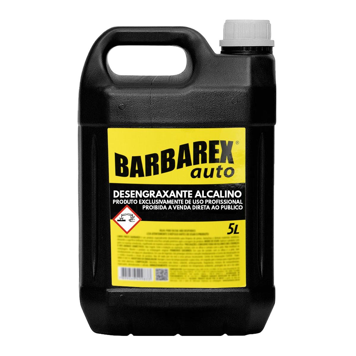 Barbarex Auto Desengraxante Alcalino 5 Litros