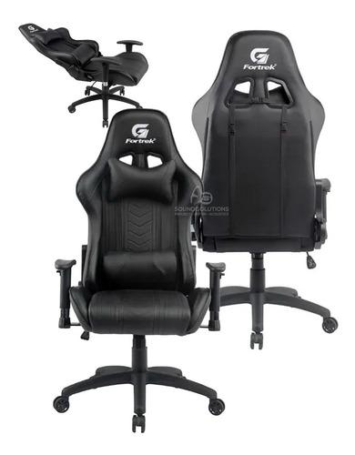 Cadeira Gamer Black Hawk Preta Fortrek Profissional !