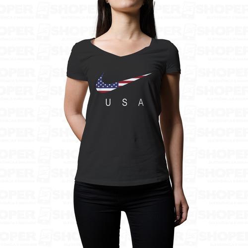 Camisa Camiseta Blusa Femenina P M G Gg Qualidade Premium