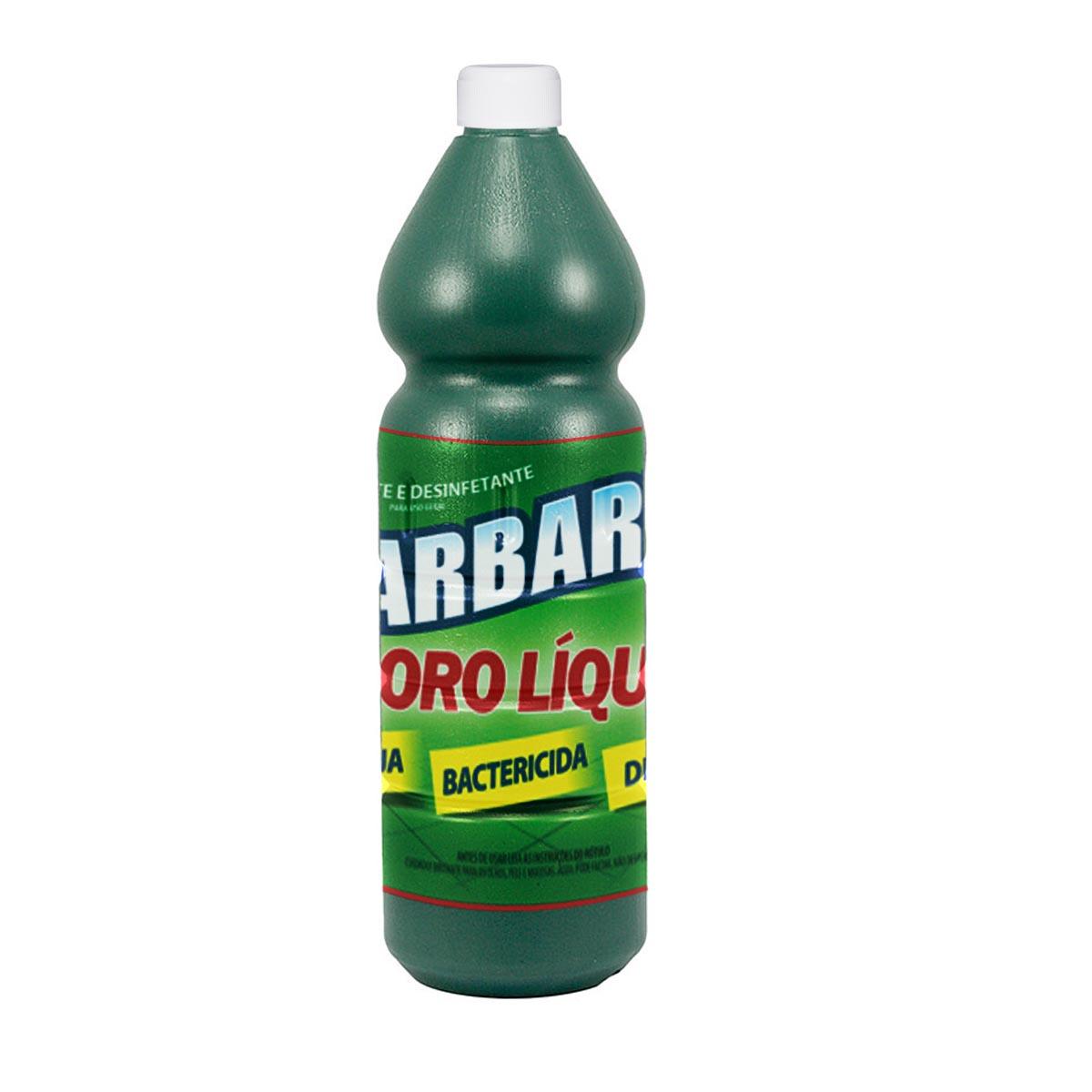 Cloro Desinfetante Líquido Barbarex 1 Litro