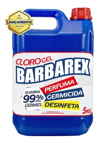 Cloro Em Gel Desinfetante Germicida Limpeza Profunda 5 Litro