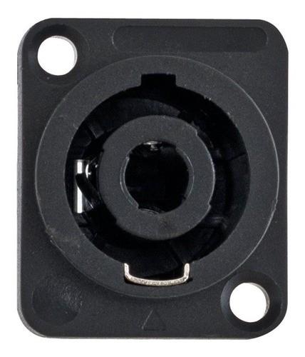 Conector Entrada Speakon Fêmea Preto Wc1604 4 Polos Profissi