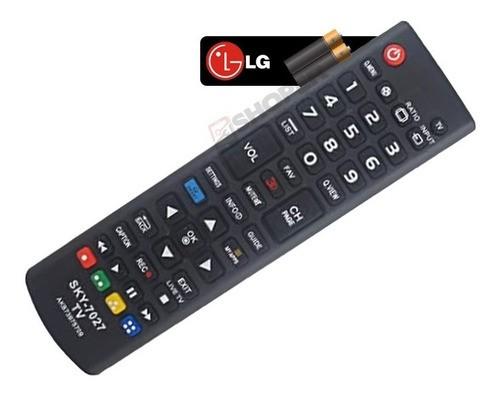 Controle LG Smart Tv Led Lcd Plasma Sky 7027 Com Pilhas