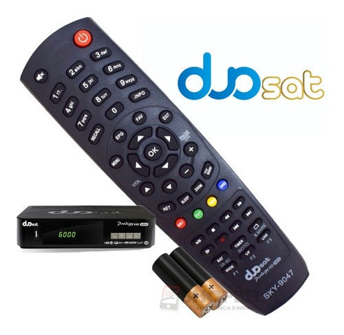 Controle Remoto Tv Semp Toshiba Sky-9047 Netflix Youtube