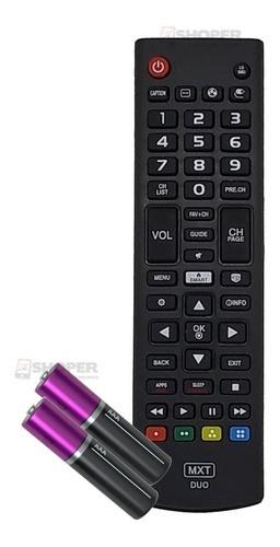 Controle Universal 2 Em 1 Tv LG / Samsung Smart + Pilhas