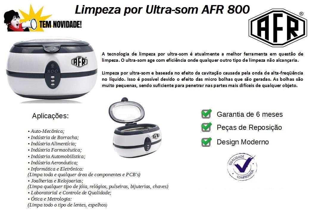 Cuba Ultrassom AFR Multifunções e Limpezas Em Geral - VGT-800