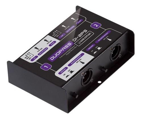 Direct Box Passivo De 2 Conexões Duopass Di-2ps Waldman