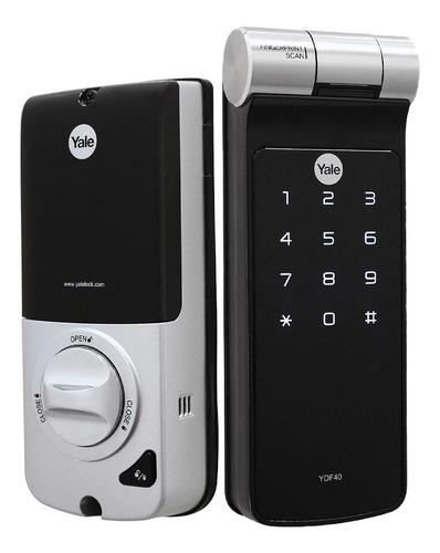 Fechadura Eletrônica Digital Yale Ydf40 Biometria Touch