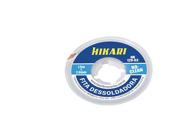 Fita Malha Dessoldadora Hikari 2 / 2,5 / 3mm A Livre Escolha