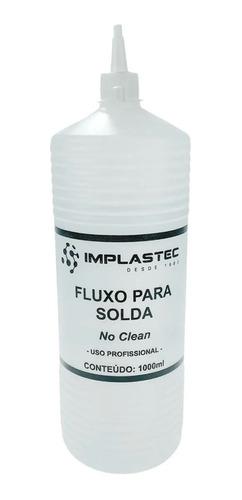 Fluxo De Solda No Clean Líquido 1 Litro Bga Pc Smd Reballing