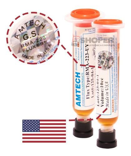 Fluxo De Solda Pastoso Rma-223uv - Made In Usa Bga Reballing