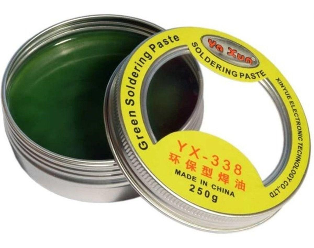 Fluxo Em Pasta Yaxun Verde Yx-338 - Alto Desempenho