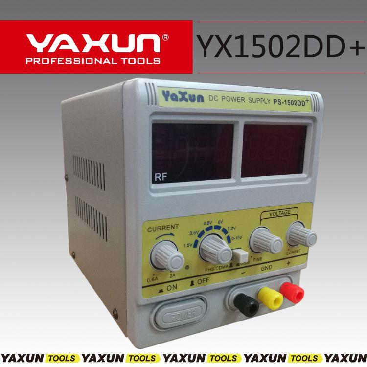 Fonte Assimétrica Digital Ajustável 15V 2A - Yaxun 1502DD+