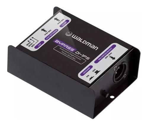 Kit 3 Unidades Direct Box Passivo D 1 Conexão Bypass Waldman