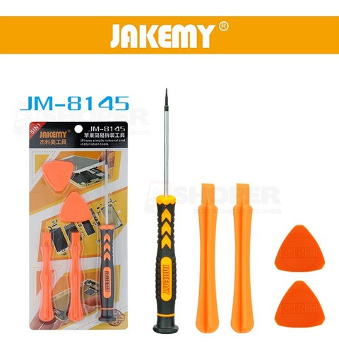 Kit Chaves Jakemy Para Manutenção iPhone 5 Peças