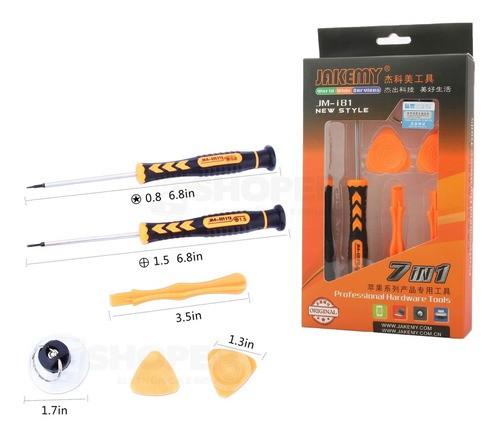Kit De Chaves Para Reparo De Celular Jakemy Jm-i81 7 Em 1