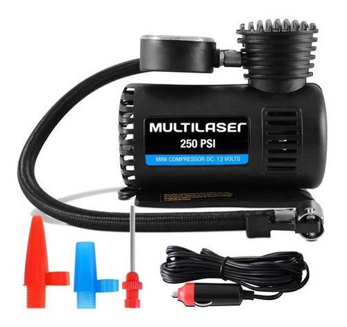 Kit Mini Aspirador De Pó Automotivo + Mini Compressor 12v