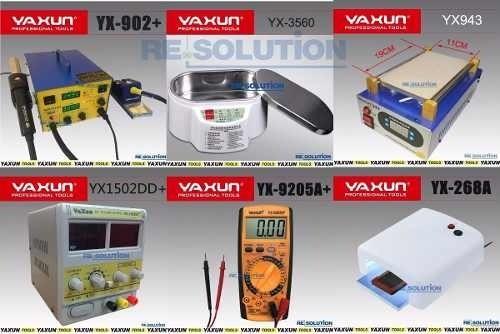Kit Nº1 Maquinas Para Manutenção De Celular Yaxun E Brinde