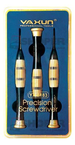 Kit Promocional 3 Chaves Luxo Super Reforçada Yaxun Yx-8183