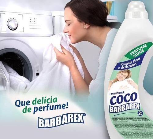 Lava Roupas De Coco 2 Litros Alta Performance Perfume Suave