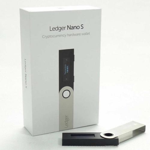 Ledger Nano S Hardware Wallet Carteira Criptomoedas Lacrada