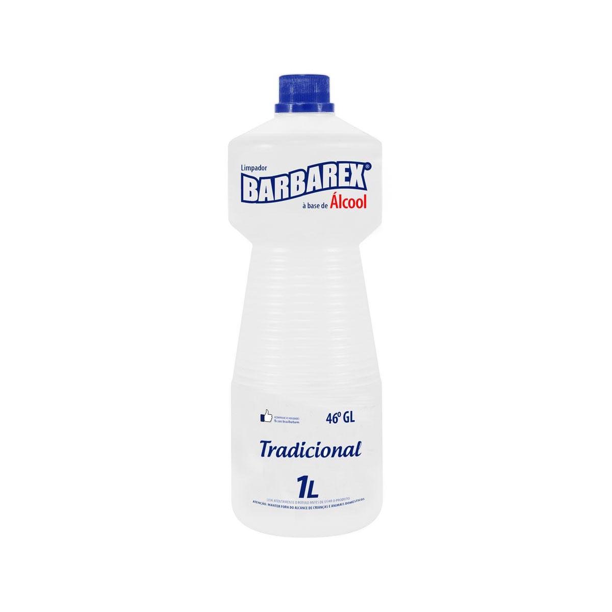 Limpador a Base de Álcool 1 litro Barbarex