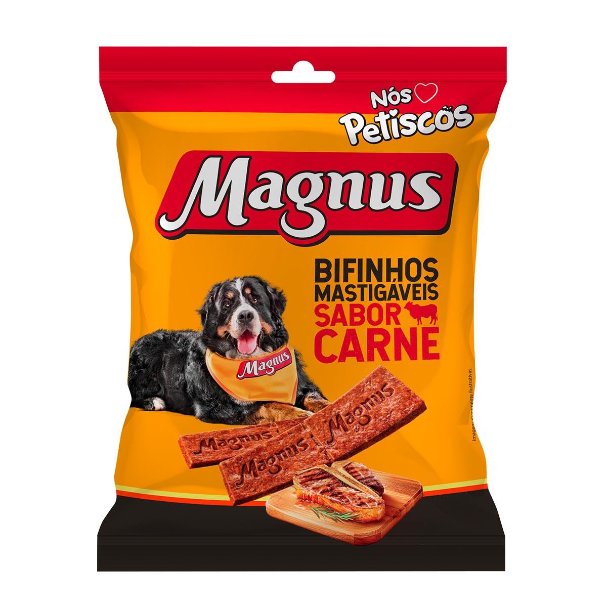 Magnus Bifinho Mastigável Sabor Carne
