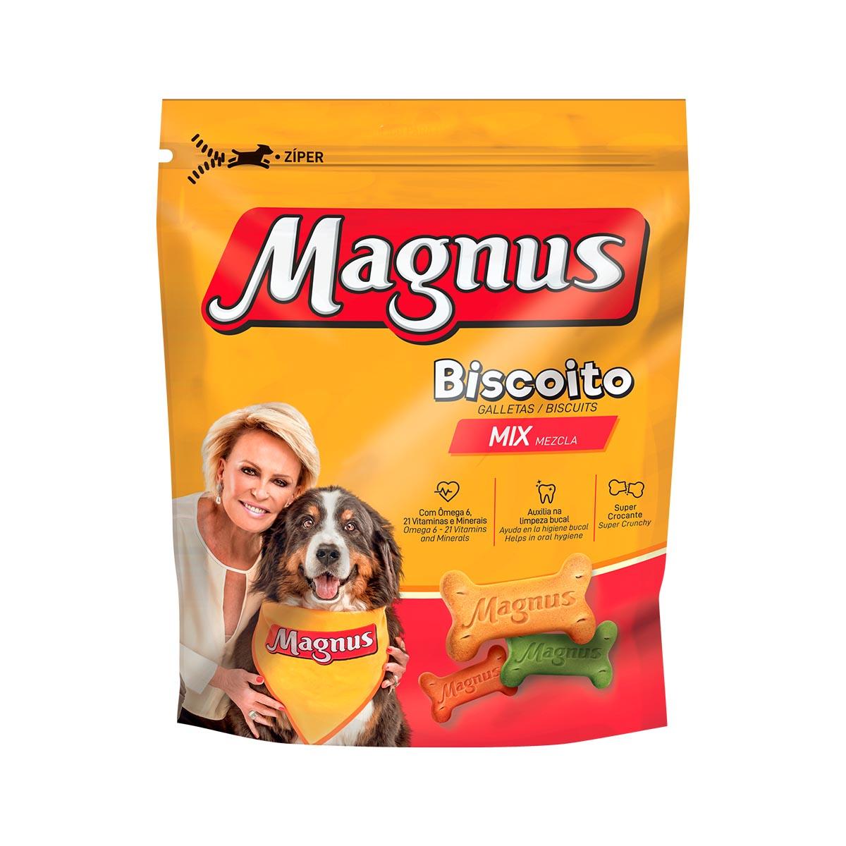 Magnus Biscoito Mix Cães Adultos