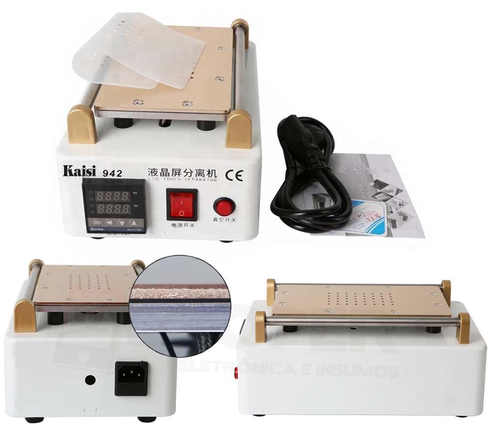 Máquina Separadora Digital Lcd Kaisi 942 Sucção Vácuo Bivolt