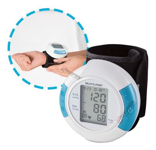 Medidor De Pressão Arterial Digital Pulso Multilaser Hc075
