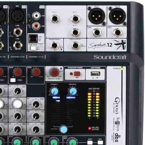 Mesa De Som Signature 12 12canais Soundcraft