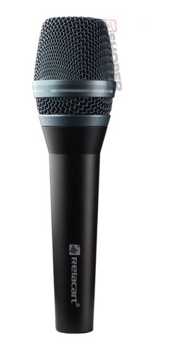 Microfone C/ Fio Voxtron Vox Sm 300 N Relacart Profissional