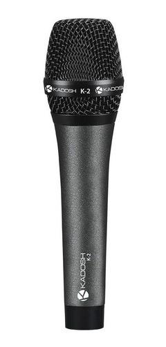 Microfone De Mão K2 Vocal S/ Cabo Kadosh