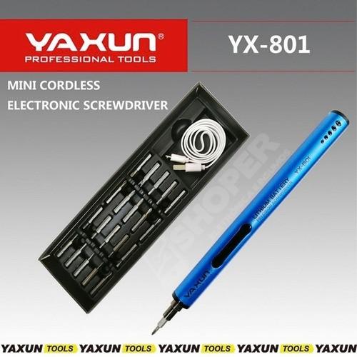 Mini Parafusadeira De Precisão Tipo Caneta Yaxun Yx-801
