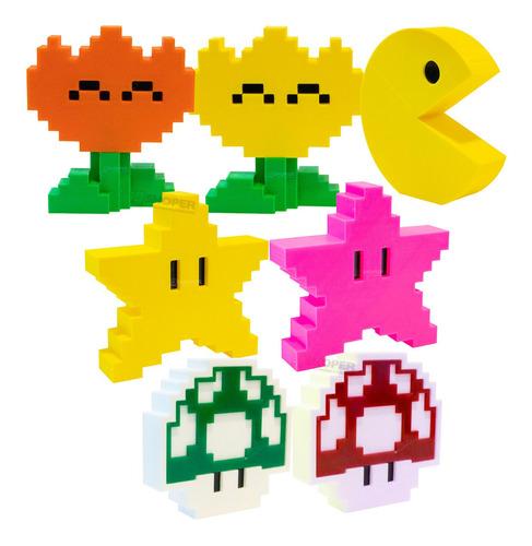 Miniaturas Decorativas Gamer Retro Para Escolher Na Variação