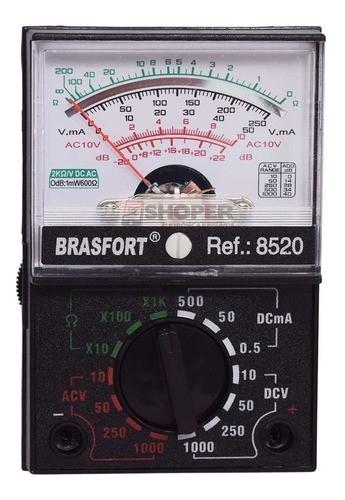 Multímetro Analógico Mod 1000a - Brasfort 8520