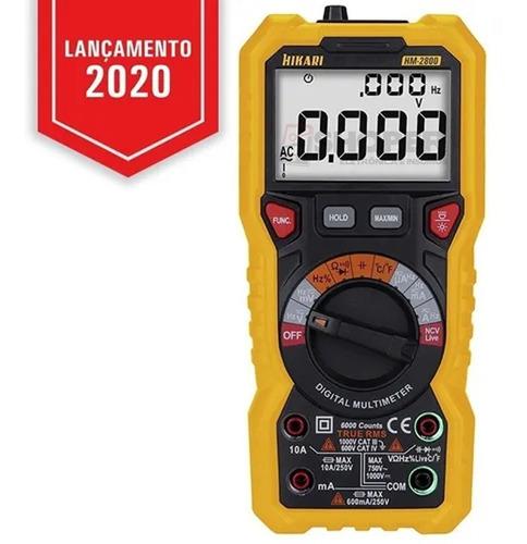 Multímetro Digital Hm -2800 - Hikari Temperatura / True Rms