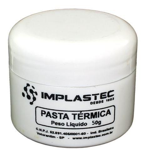 Pasta Térmica De Silicone Dissipadora Calor Processador 50g
