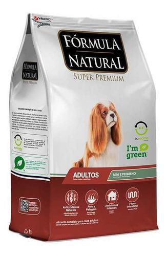 Ração Fórmula Natural Super Premium Para Cachorro Adulto Da Raça Mini/pequena Sabor Mix Em Saco De 1kg