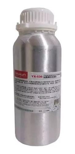 Removedor De Cola Uv 250ml Yx-536 + Cola Uv Original Yaxun