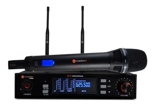 Sistema De Microfone Sem Fio Vocal K901m Kadosh Profissional