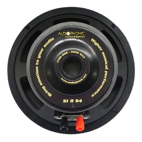 Subwoofer 8 350w Sensation S1-8 S4 Audiophonic B.simples