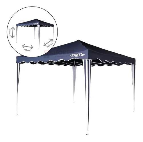Tenda Gazebo Barraca Praia Reforçada - Aço + Poliester Proteção Solar UV