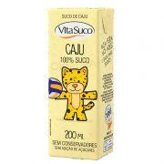 Suco Natural - 200ml (Kids) - Caju - Vita Suco - Cx 27un