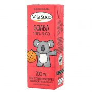 Suco Natural - 200ml (Kids) - Goiaba - Vita Suco - Cx 27un