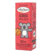Suco Natural - 200ml (Kids) - Goiaba - Vita Suco - Cx 18un