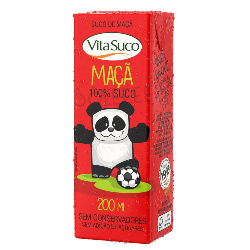 Suco Natural - 200ml (Kids) - Diversos Sabores - Vita Suco - Cx 27un