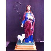 Bom Pastor com Duas Ovelhas - 110 cm