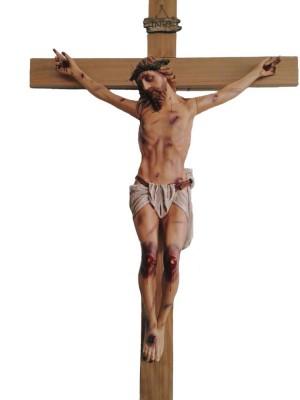 Crucifixo: 330 cm | Corpo: 180 cm | Cruz: 330 cm