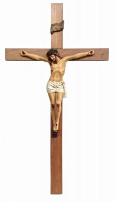 Crucifixo: 140 cm | Corpo: 055 cm